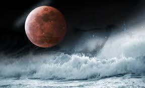 Waspada,  Gerhana Bulan Berpengaruh Terjadinya Potensi Gelombang Tinggi di Laut