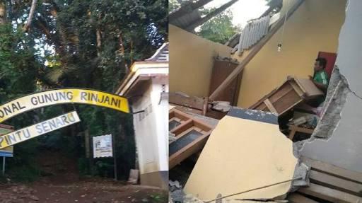 Lombok Kembali Diguncang Gempa Susulan 6,5 SR