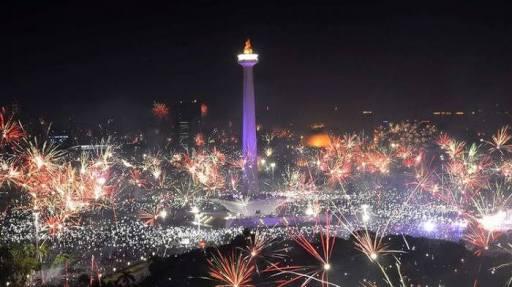 Volume Sampah di Jakarta Usai Pesta Pergantian Tahun Mencapai 327 Ton