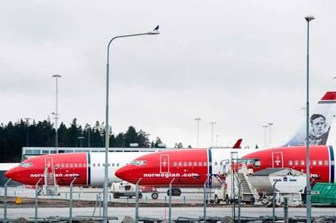 Setelah Dua Bulan Terdampar di Iran Pesawat 737 MAX Milik Norwegian Air Akhirnya  Lepas Landas