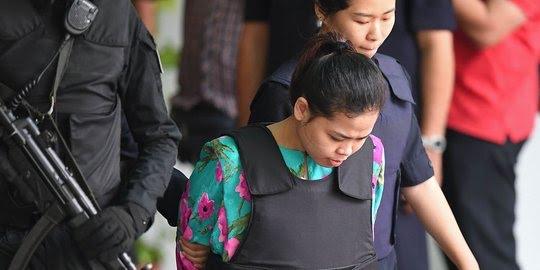 Siti Aisyah Terdakwa Pembunuhan Kim Jong-Nam  Bebas Dari Tuntutan