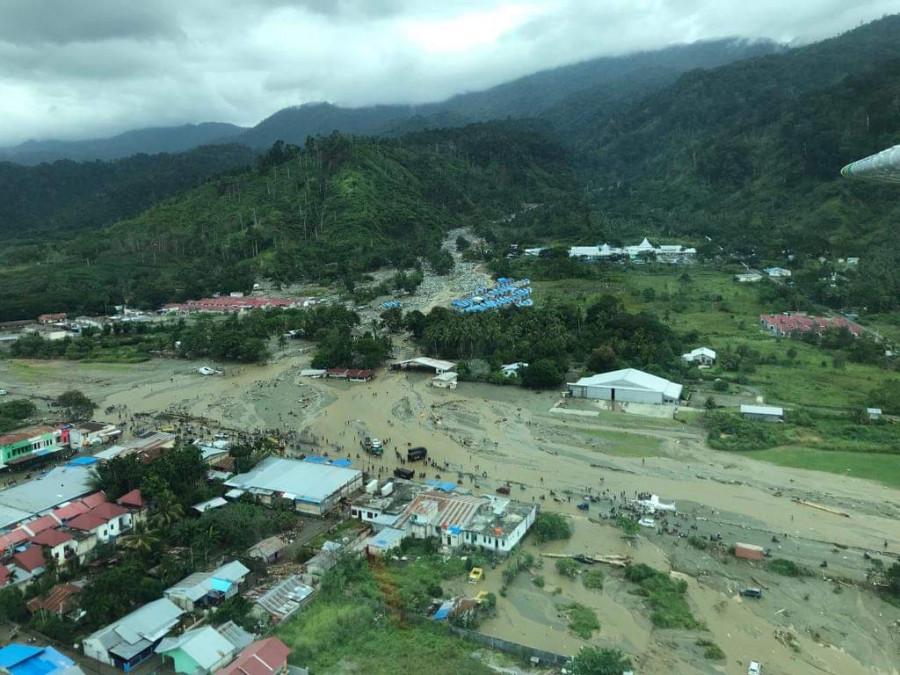 Pasca Banjir Sentani, Bandara Wamena Dipenuhi Penumpang