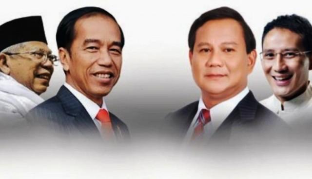 Pemilu Serentak 2019 Hasil Sementara Data KPU Prabowo Sandi Unggul