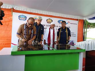 Kado Kemerdekaan, Pemerintah Resmikan 3 SPBU BBM Satu Harga di  Halmahera