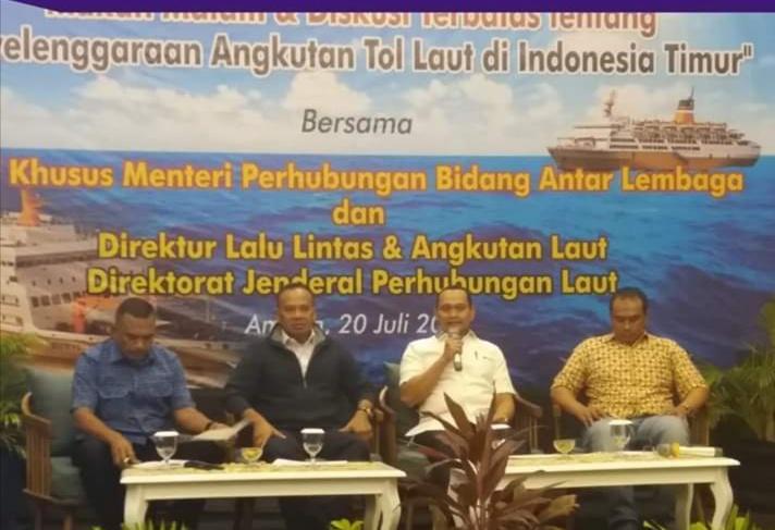 Kemenhub Optimalkan Program Tol Laut di Indonesa Timur