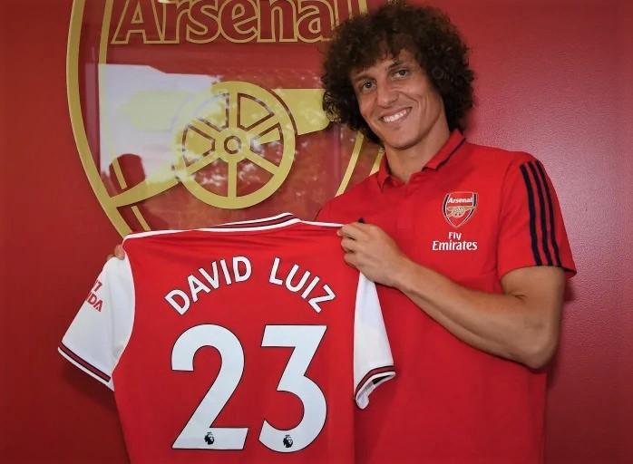 David Luiz Resmi Hengkang dari The Blues Chelsea