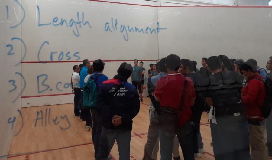 Squash Indonesia Bidik Peluang Pada Nomor Jumbo