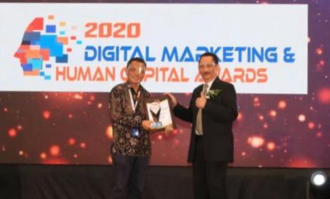 PELNI Raih Penghargaan Pada Digital Marketing & Human Capital Award 2020