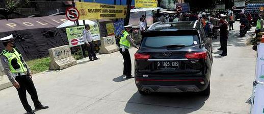 Ini Daftar Lengkap 31 Titik Penyekatan Keluar Jakarta