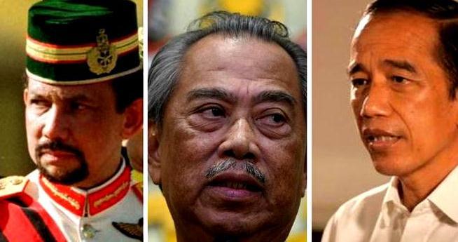 Presiden Jokowi, PM Malaysia, dan Sultan Brunei Keluarkan Pernyataan Bersama Kutuk Israel